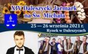 XIV Daleszycki Jarmark na Św. Michała